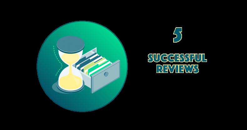 5. Successful Reviews