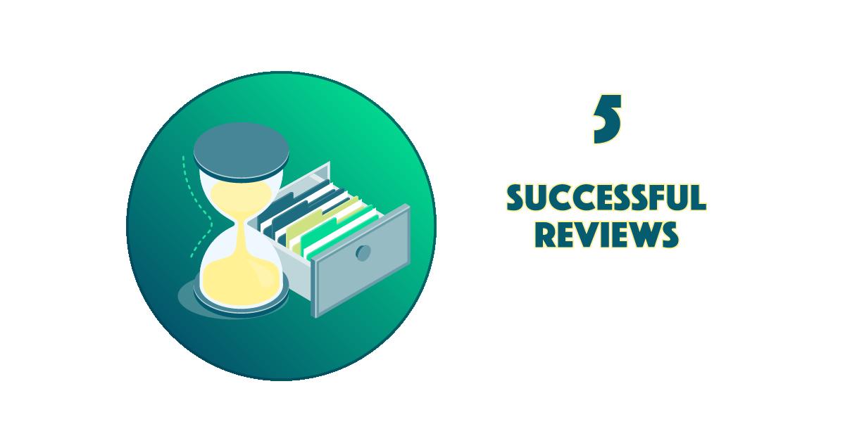 Successful Reviews