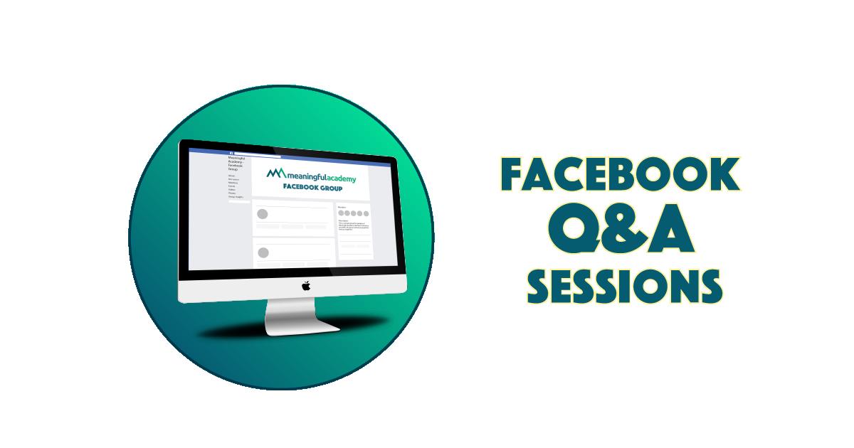 RP - Facebook Live Q&A Calls